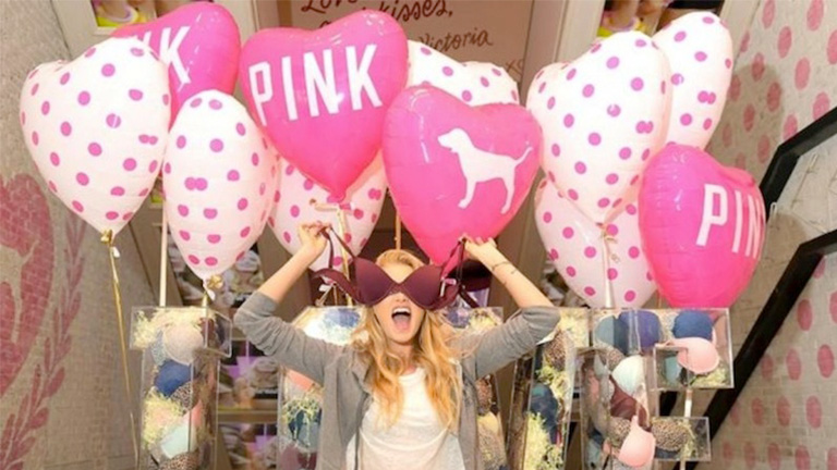 Victoria's Secret Pink Partners with Beauty Students