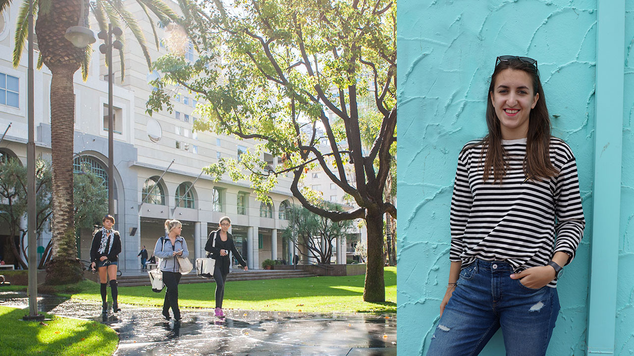 Former Exchange Student Interviews FIDM Staff