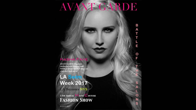 Grad Featured on Cover of Avant Garde Magazine