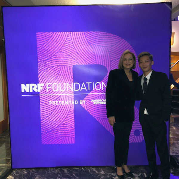 Recent Merchandising & Marketing Graduate Meets Retail Leaders at NRF Foundation Events in New York City