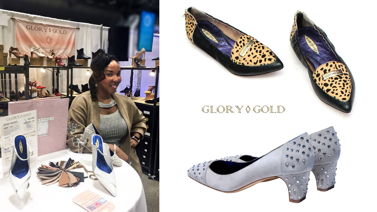 Grad is the Creative Director and Entrepreneur Behind Glory Gold Shoes