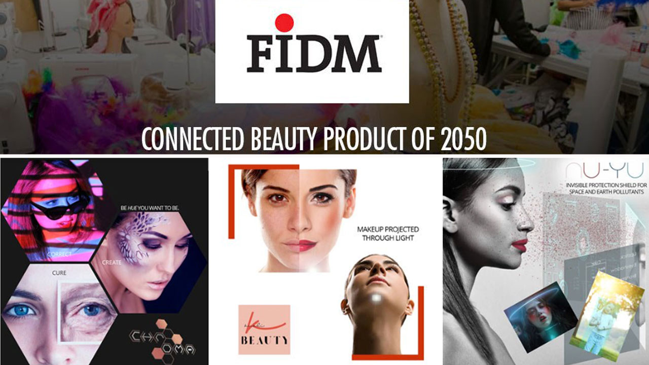 FIDM Students Compete in Futuristic Beauty Concept Contest