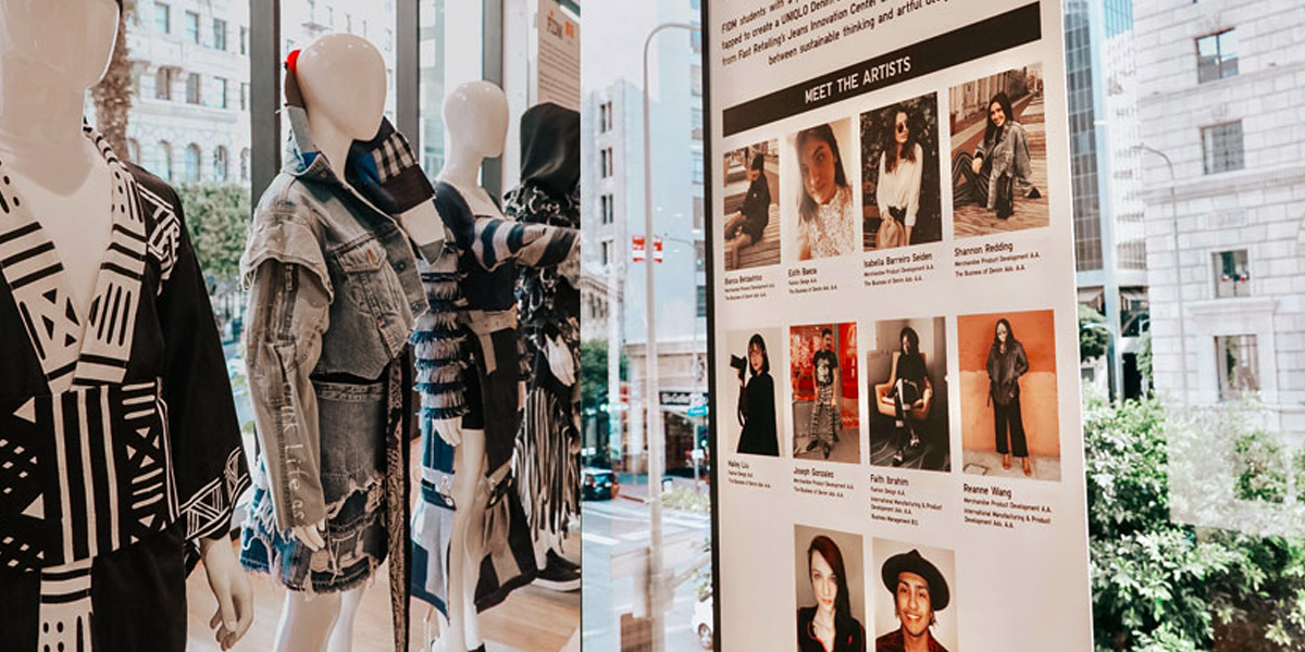 FIDM Students Partner with Uniqlo