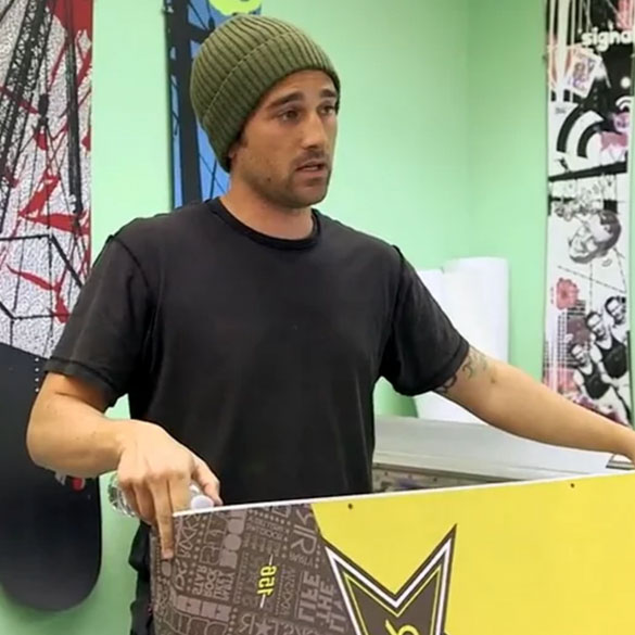 Signal Snowboards Teams Up with Graphic Design Students