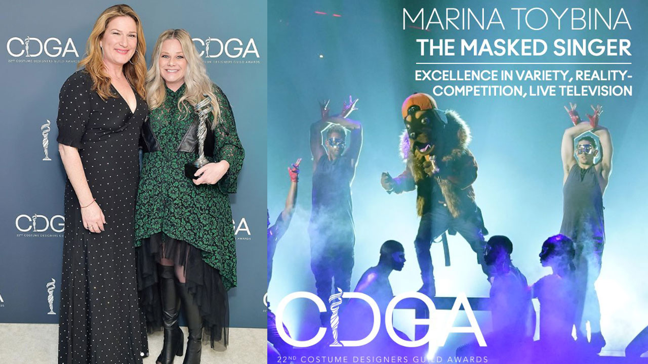FIDM Grad Marina Toybina Wins Costume Designers Guild Award for Her Work on The Masked Singer