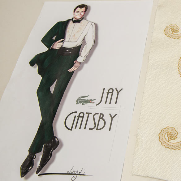 Jay Gatsby - Discovering literacy character through fashion