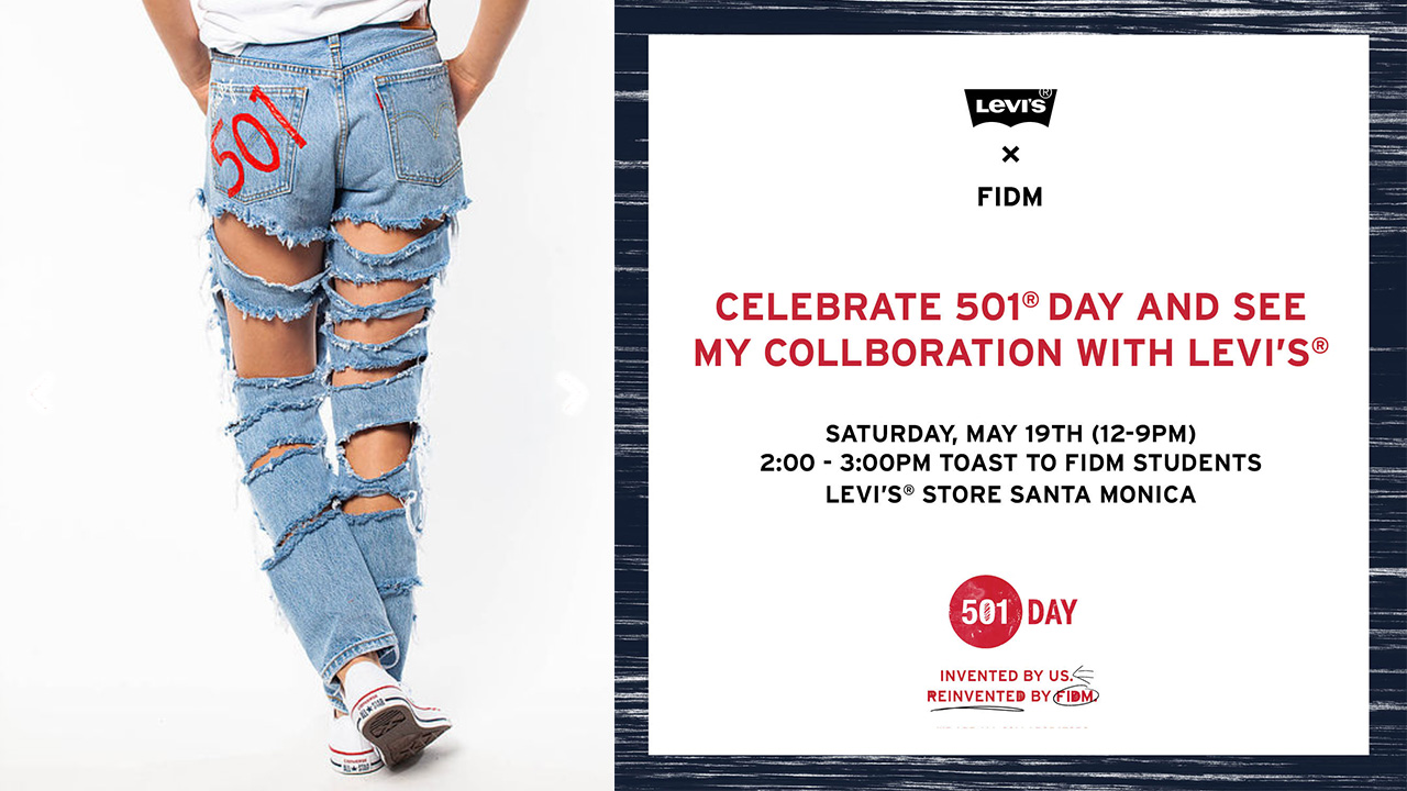Levi's Partners with FIDM on 501 Day Design Project