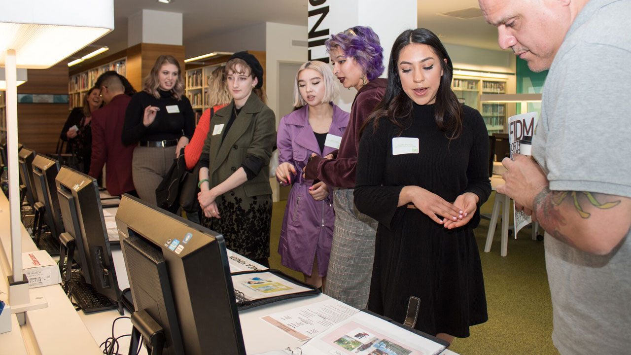 SF Students Exhibit Their Portfolios to Adobe, Google, Levi's, West Elm, and More