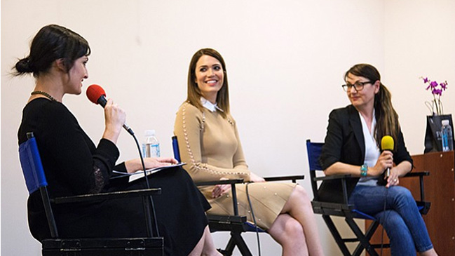 Mandy Moore Visits Fidm Blog Fidm Edu