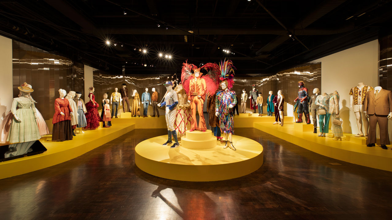 The 28th Art of Motion Picture Costume Design Exhibition is On View at the FIDM Museum