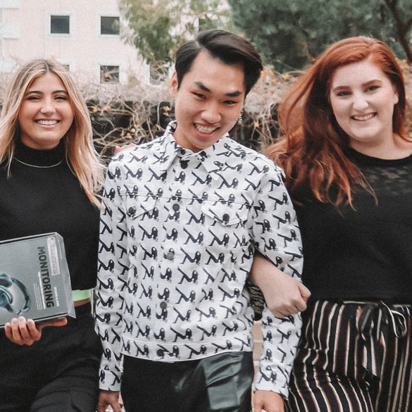 FIDM students from different cultures