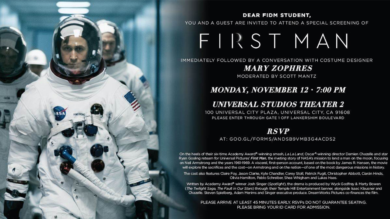 Students and Alumni Meet First Man Costume Designer Mary Zophres