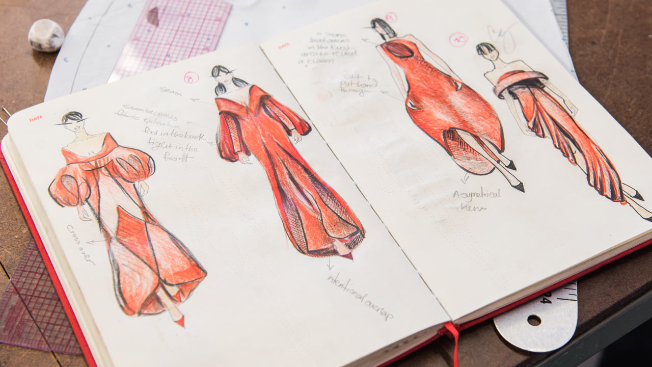 The Art Of Fashion Illustration Applied Arts Exercises In Design Fidm Edu