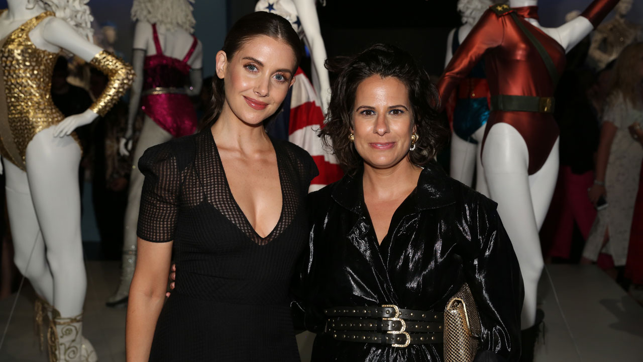 Alison Brie Attends Opening Reception for TV Costume Exhibition at FIDM