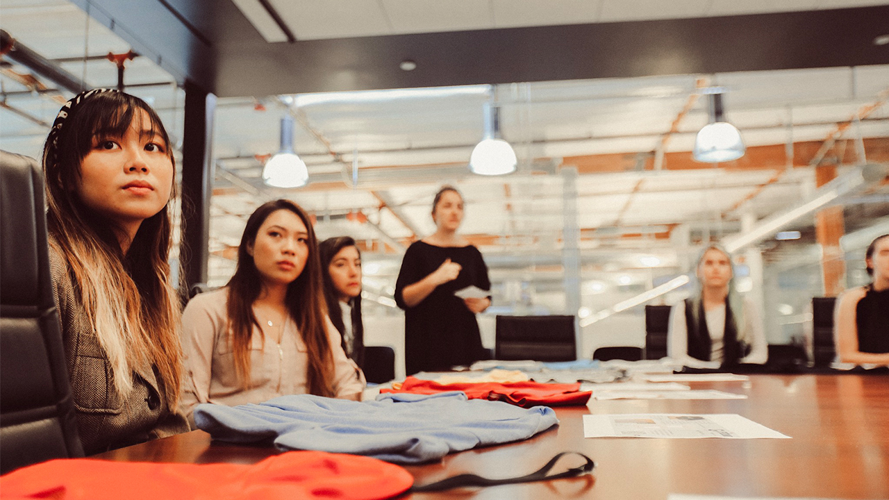Students Present Sustainable Knit Top Designs at GUESS