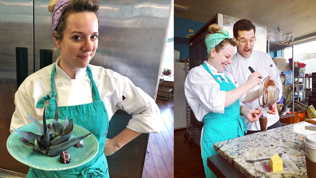 Visual Communications Grad is a Chocolatier Designing Her First Shop
