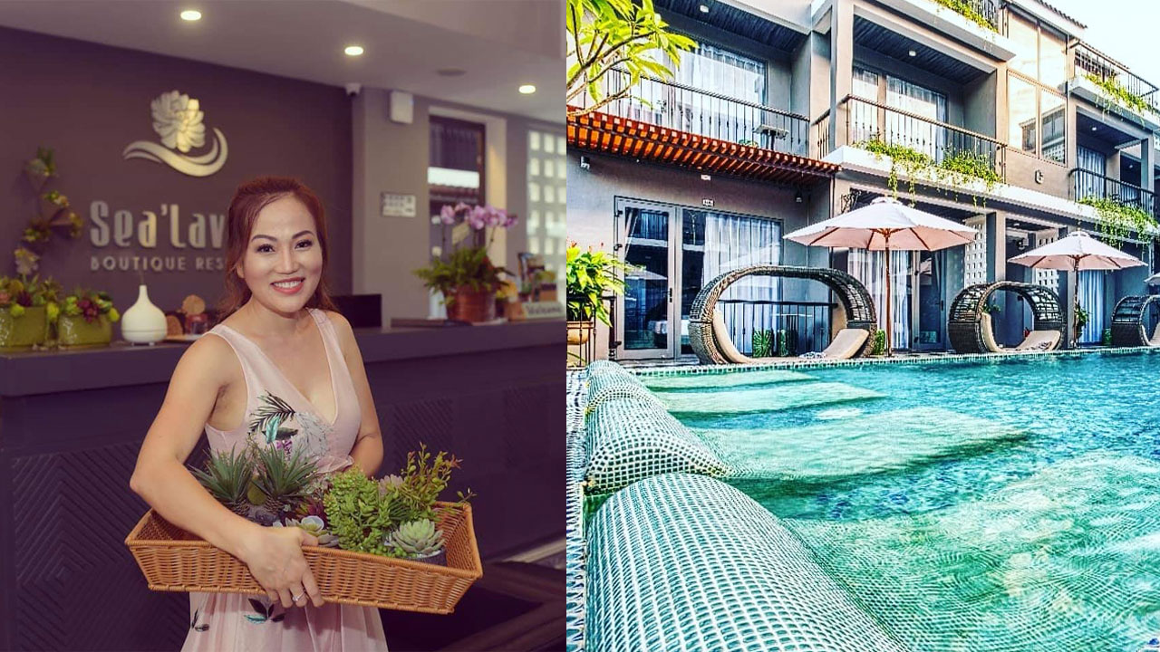 Grad and Entrepreneur Jenny Pham Designed Her Sea'Lavie Resort and Spa Located in Vietnam