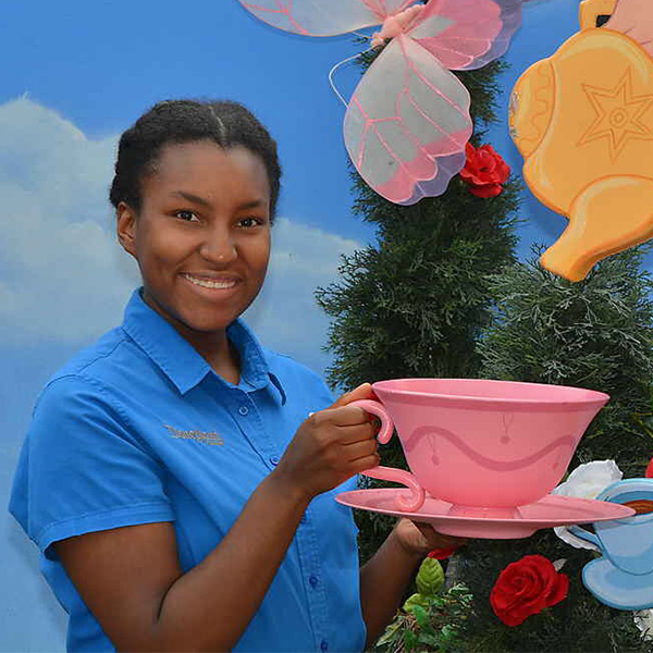 Meranda Crosby Working as Costumer at Disneyland