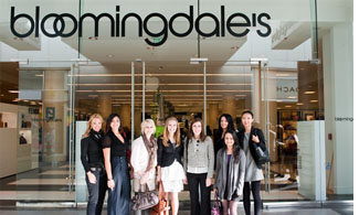 Students visited Bloomingdale's and met with Chairman & CEO Michael Gould