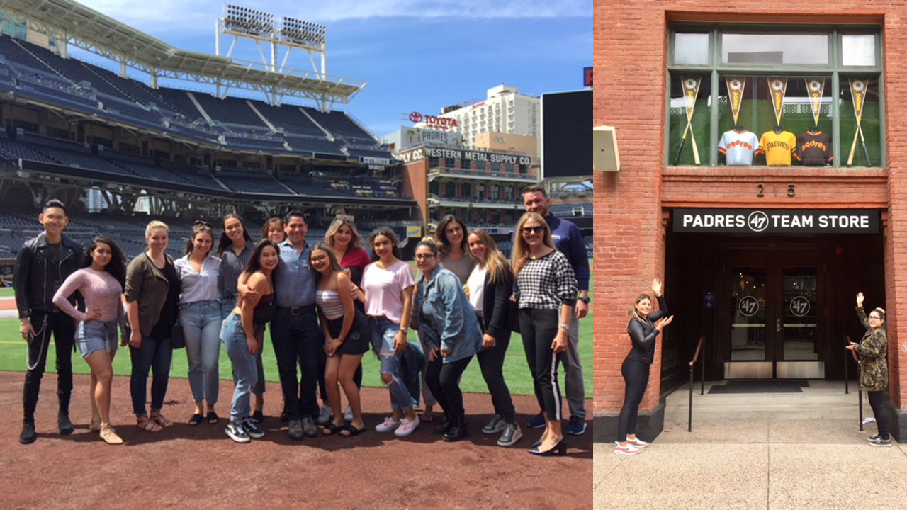 FIDM Students Work With the San Diego Padres