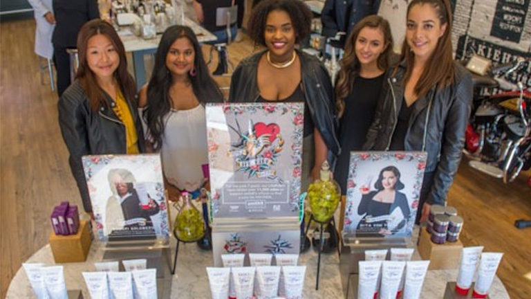 Kiehl's Partners with Beauty Industry Students