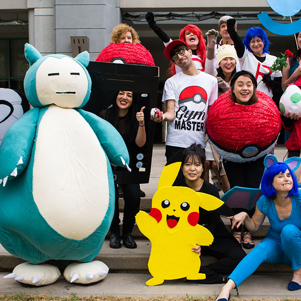 Pokemon Go themed Halloween costumes